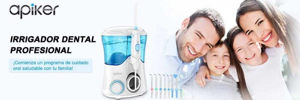 irrigador dental profesional apiker
