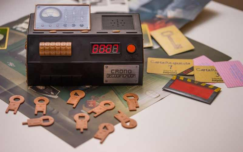 Diset Escape Room The Game Cronodecodificador