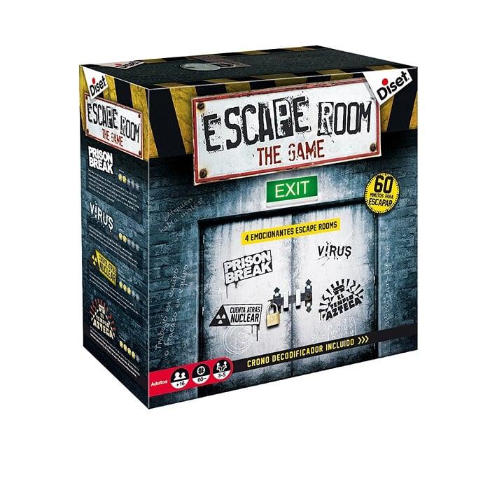 Diset Escape Room The Game parte frontal de la caja