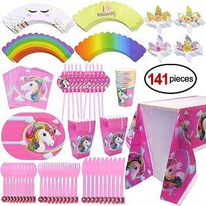 cuberteria unicornios