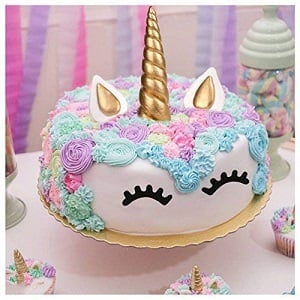 decoracion tarta unicornio