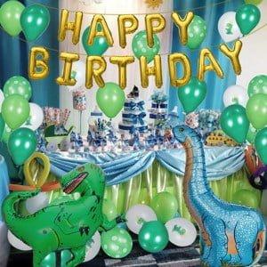 decoración fiestas de dinosaurios