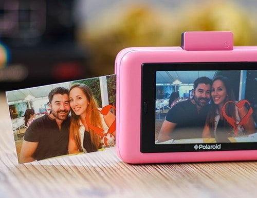 Polaroid snap touch pantalla