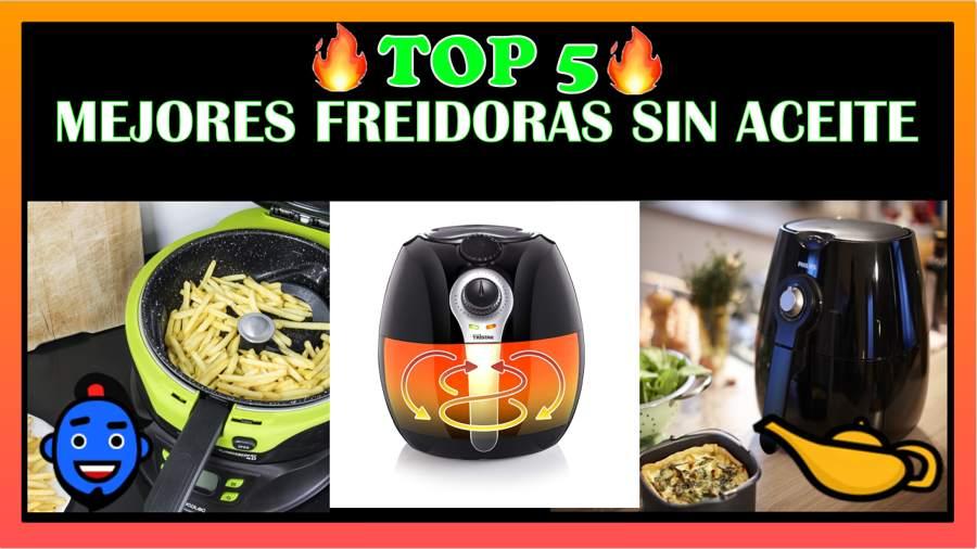 Photo of Top 5 Mejores freidoras sin aceite – opiniones y comparativa