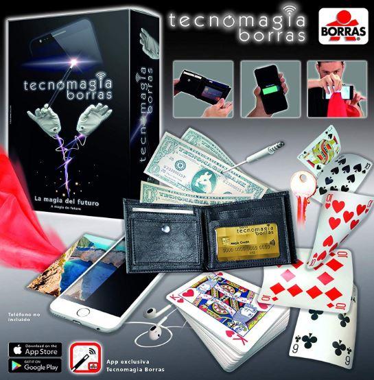 tecnomagia borras - juego de magia con app