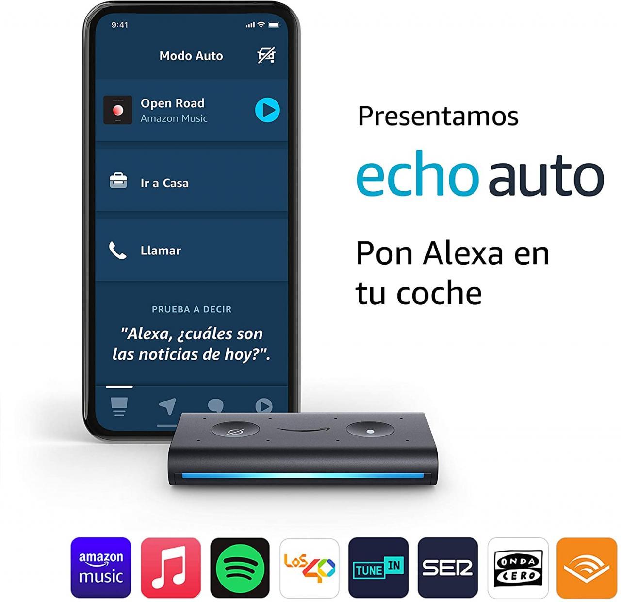 Análisis de Amazon Echo Auto: ¡Alexa incluso en el automóvil!