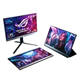ASUS ROG Strix XG17AHP Portable Gaming Monitor USB-C 17.3'IPS FullHD,...