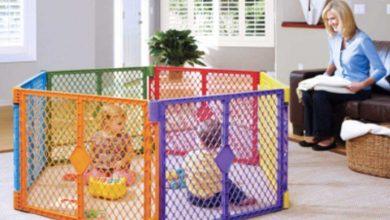 El mejor parque para bebés: guía para modelos más seguros