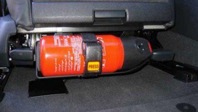 Extintores de incendios para automóviles: guía para elegir el mejor modelo [opiniones, opiniones]