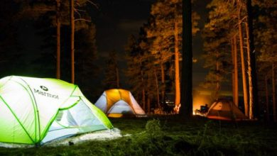 Lámparas de camping - ¿Cómo elegir un buen modelo?  Los 5 mejores del mercado