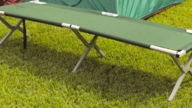 Las 5 mejores camas para acampar: guía de compra y precios