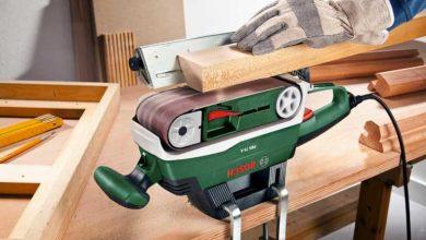 Lijadoras de banda Bosch: los 5 modelos con la mejor relación calidad-precio