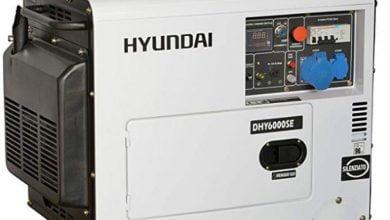 Los mejores generadores de energía de Hyundai - 5 modelos comparados con fotos y precios