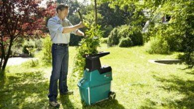 Trituradoras eléctricas: ¿cuál elegir para su jardín?  5 modelos comparados